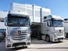 JEREZ TEST FEBBRAIO 2013, Mercedes AMG F1 trucks in the paddock. 08.02.2013.