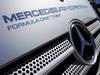 JEREZ TEST FEBBRAIO 2013, Mercedes AMG F1 truck in the paddock. 08.02.2013.