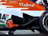 JEREZ TEST FEBBRAIO 2013, Sahara Force India F1 VJM06 exhaust. 08.02.2013.
