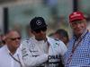 GP ABU DHABI, 23.11.2014- Lewis Hamilton (GBR) Mercedes AMG F1 W05 e Nikki Lauda (AU), Mercedes