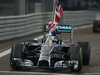 GP ABU DHABI, 23.11.2014- Gara, Lewis Hamilton (GBR) Mercedes AMG F1 W05 vincitore e Champion F1 2014
