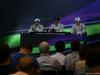 GP ABU DHABI, 23.11.2014- Gara, Conferenza Stampa, Felipe Massa (BRA) Williams F1 Team FW36, Lewis Hamilton (GBR) Mercedes AMG F1 W05 e Valtteri Bottas (FIN) Williams F1 Team FW36