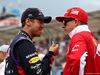 GP AUSTRALIA, 16.03.2014- Sebastian Vettel (GER) Red Bull Racing RB10 e Kimi Raikkonen (FIN) Ferrari F14-T