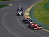 GP AUSTRALIA, 16.03.2014- Gara, Kimi Raikkonen (FIN) Ferrari F14-T davanti a Daniil Kvyat (RUS) Scuderia Toro Rosso STR9