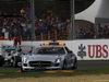 GP AUSTRALIA, 16.03.2014- Gara, The Safety car davanti a Nico Rosberg (GER) Mercedes AMG F1 W05