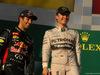 GP AUSTRALIA, 16.03.2014- Gara, 1st position Nico Rosberg (GER) Mercedes AMG F1 W05 e secondo Daniel Ricciardo (AUS) Red Bull Racing RB10