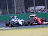 GP AUSTRALIA, 16.03.2014- Gara, Valtteri Bottas (FIN) Williams F1 Team FW36 e Kimi Raikkonen (FIN) Ferrari F14-T