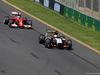GP AUSTRALIA, 14.03.2014- Free Practice 1, Fernando Alonso (ESP) Ferrari F14-T e Sergio Perez (MEX) Sahara Force India F1 VJM07