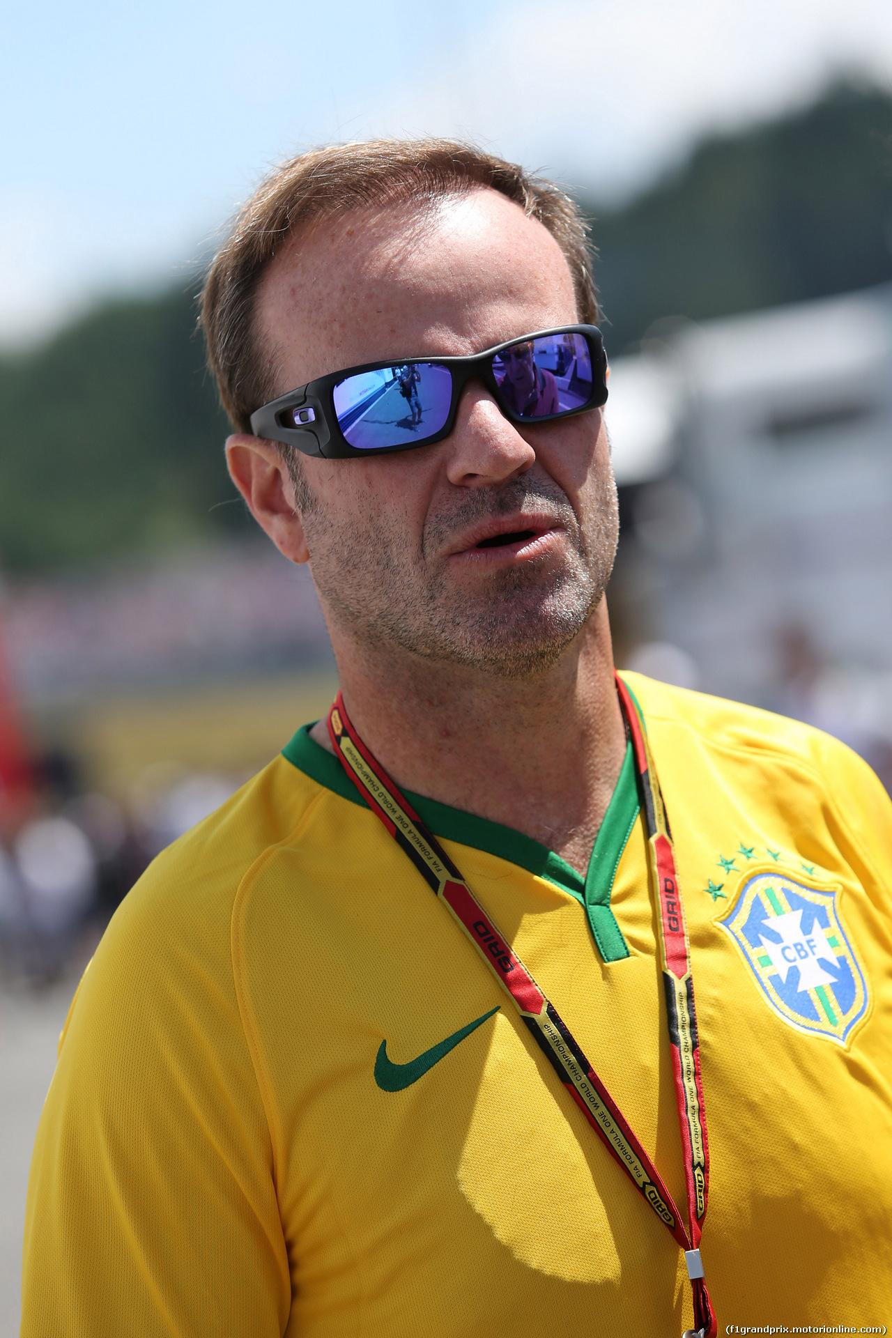 GP AUSTRIA, 22.06.2014- Rubens Barrichello (BRA)