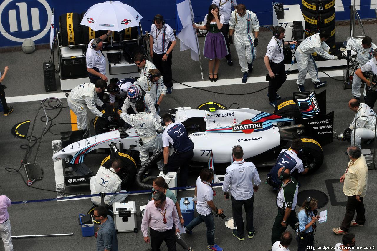 GP AUSTRIA, 22.06.2014- Gara, Valtteri Bottas (FIN) Williams F1 Team FW36