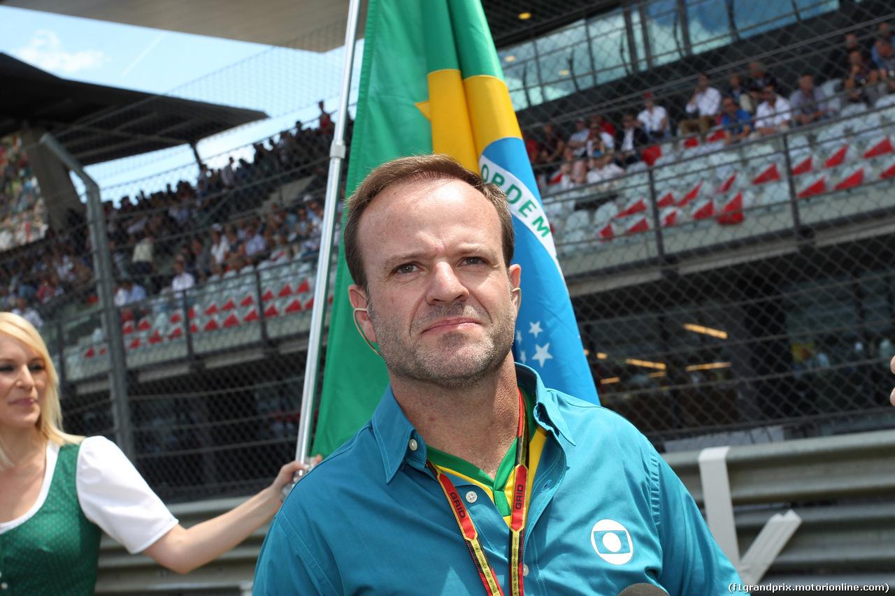 GP AUSTRIA, 22.06.2014- Gara, Rubens Barrichello (BRA)