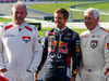 GP AUSTRIA, 21.06.2014- (L to R): Dr Helmut Marko (AUT) Red Bull Motorsport Consultant with Sebastian Vettel (GER) Red Bull Racing.