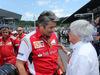GP AUSTRIA, 22.06.2014- Gara, Marco Mattiacci (ITA) Team Principal, Ferrari e Bernie Ecclestone (GBR), President e CEO of FOM