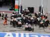 GP AUSTRIA, 22.06.2014- Gara, Pit stop, Nico Hulkenberg (GER) Sahara Force India F1 VJM07