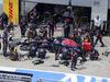 GP AUSTRIA, 22.06.2014- Gara, Pit stop, Daniil Kvyat (RUS) Scuderia Toro Rosso STR9