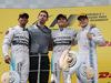 GP AUSTRIA, 22.06.2014- Gara, 1st position Nico Rosberg (GER) Mercedes AMG F1 W05, secondo Lewis Hamilton (GBR) Mercedes AMG F1 W05 e terzo Valtteri Bottas (FIN) Williams F1 Team FW36