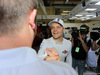 GP AUSTRIA, 22.06.2014- Gara, Festeggiamenti, terzo Valtteri Bottas (FIN) Williams F1 Team FW36