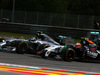 GP AUSTRIA, 22.06.2014- Gara, Nico Rosberg (GER) Mercedes AMG F1 W05 e Sergio Perez (MEX) Sahara Force India F1 VJM07
