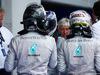 GP AUSTRIA, 22.06.2014- Gara, Nico Rosberg (GER) Mercedes AMG F1 W05, Valtteri Bottas (FIN) Williams F1 Team FW36 e Lewis Hamilton (GBR) Mercedes AMG F1 W05