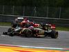 GP AUSTRIA, 22.06.2014- Gara, Romain Grosjean (FRA) Lotus F1 Team E22 davanti a Fernando Alonso (ESP) Ferrari F14-T