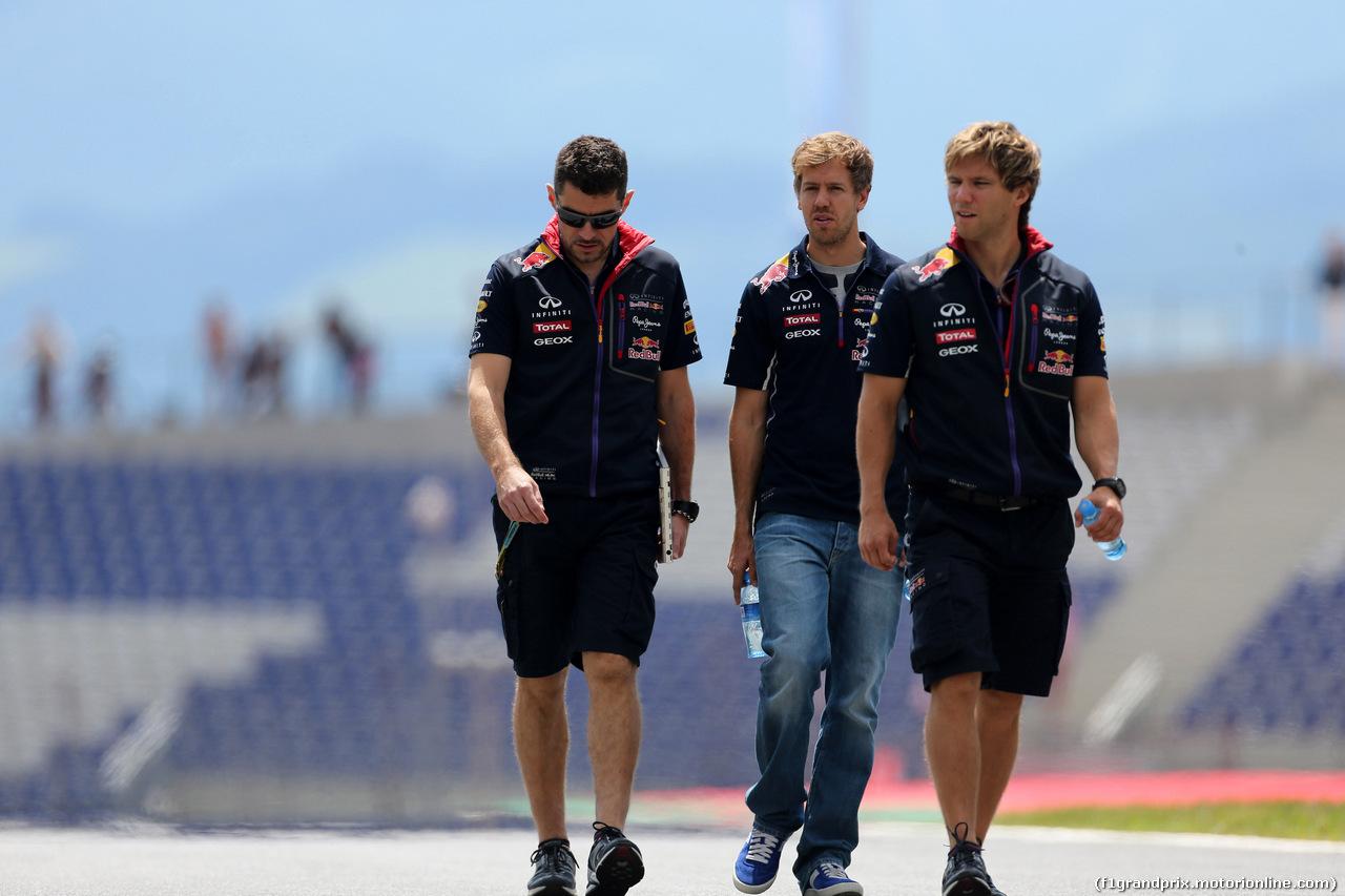 GP AUSTRIA, 19.06.2014- Sebastian Vettel (GER) Red Bull Racing RB10