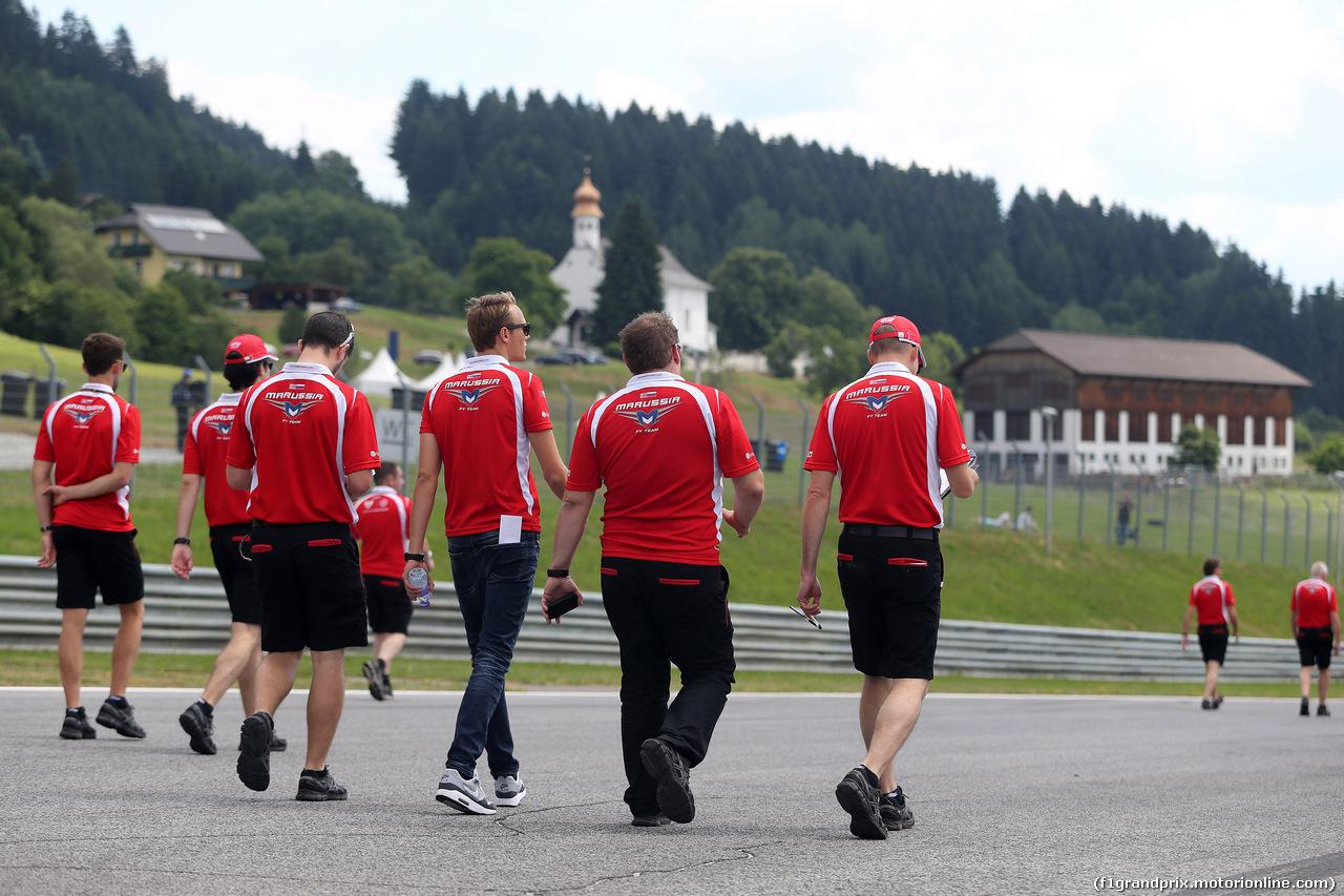 GP AUSTRIA, 19.06.2014- Max Chilton (GBR), Marussia F1 Team MR03