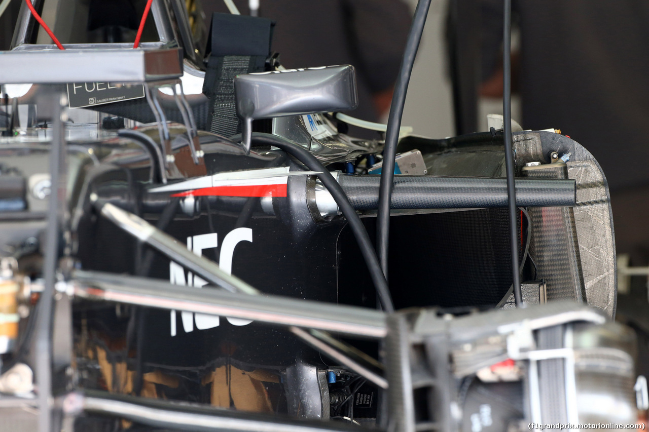 GP AUSTRIA, 19.06.2014- Sauber F1 Team C33, detail