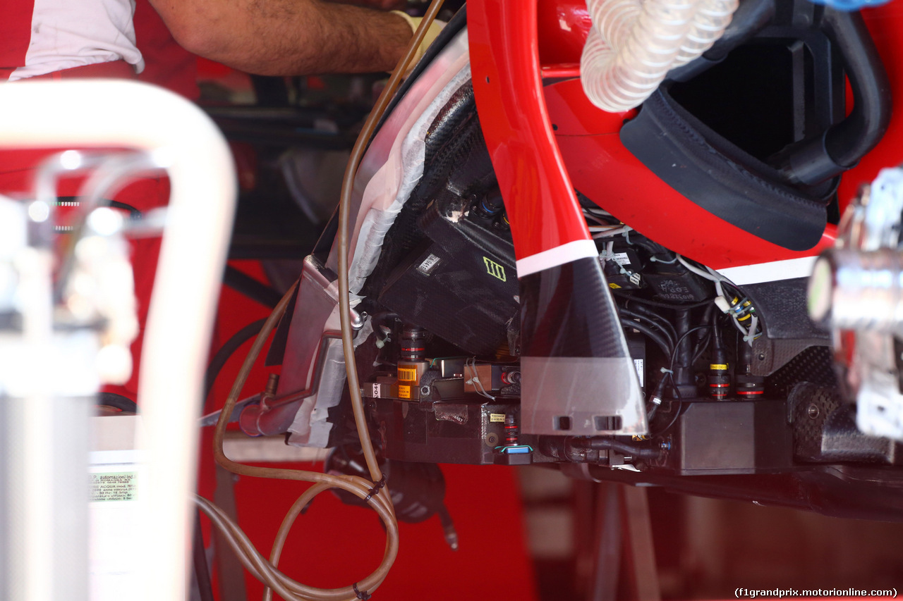 GP AUSTRIA, 19.06.2014- Ferrari F14-T, detail