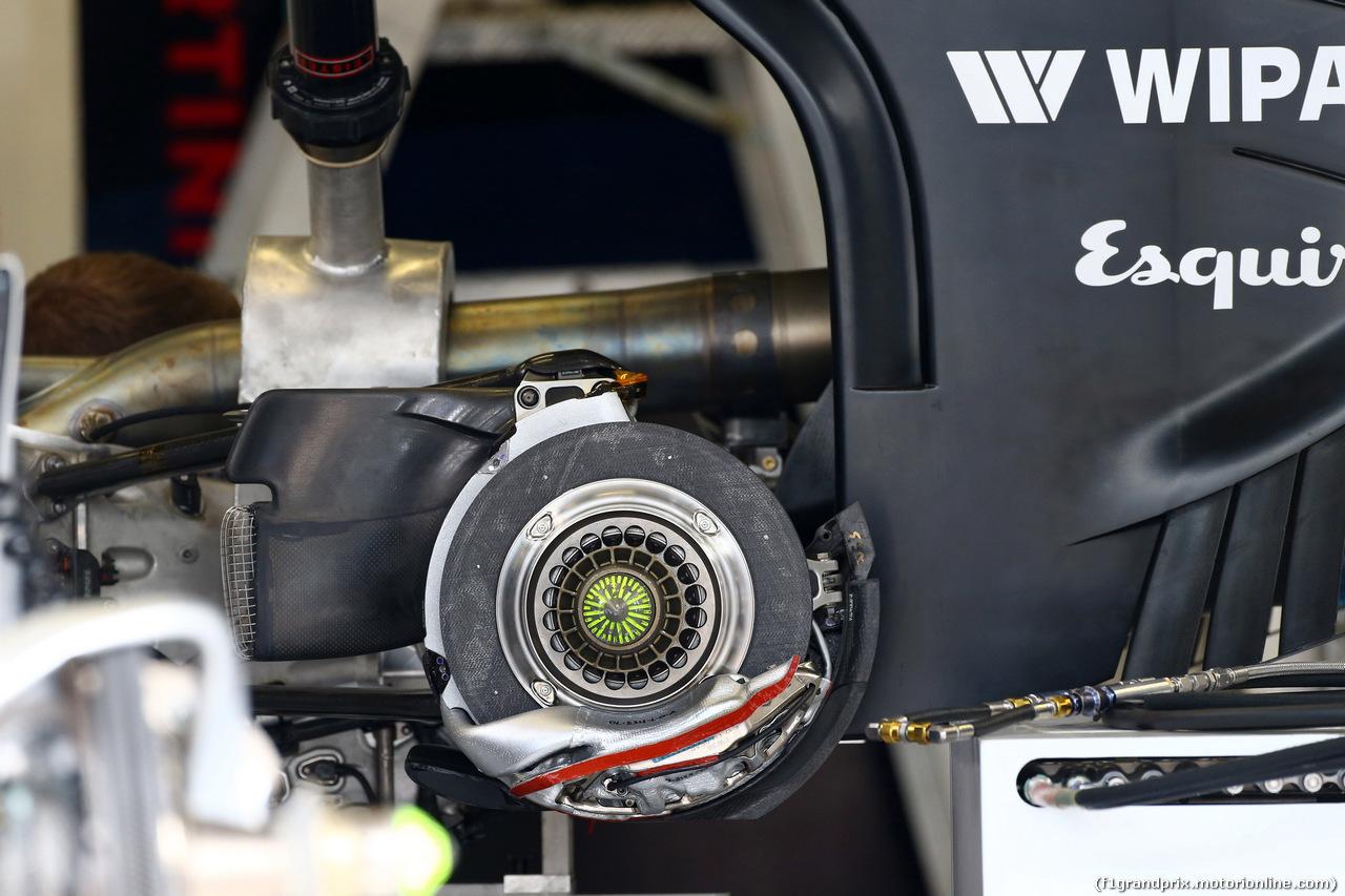 GP AUSTRIA, 19.06.2014- Williams F1 Team FW36, detail