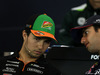 GP AUSTRIA, 19.06.2014- Conferenza Stampa, Sergio Perez (MEX) Sahara Force India F1 VJM07 e Daniel Ricciardo (AUS) Red Bull Racing RB10