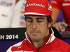 GP AUSTRIA, 19.06.2014- Conferenza Stampa, Fernando Alonso (ESP) Ferrari F14-T