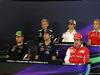 GP AUSTRIA, 19.06.2014- Conferenza Stampa, (L-R) Marcus Ericsson (SUE) Caterham F1 Team CT-04, Esteban Gutierrez (MEX), Sauber F1 Team C33, Max Chilton (GBR), Marussia F1 Team MR03, Sergio Perez (MEX) Sahara Force India F1 VJM07, Daniel Ricciardo (AUS) Red Bull Racing RB10 e Fernando Alonso (ESP) Ferrari F14-T