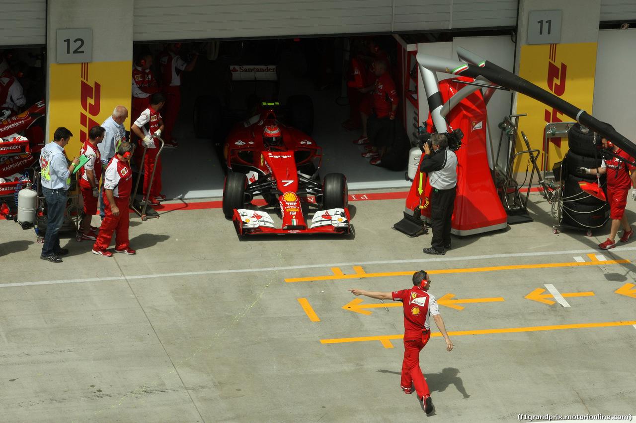 GP AUSTRIA, 21.06.2014- Qualifiche, Kimi Raikkonen (FIN) Ferrari F14-T
