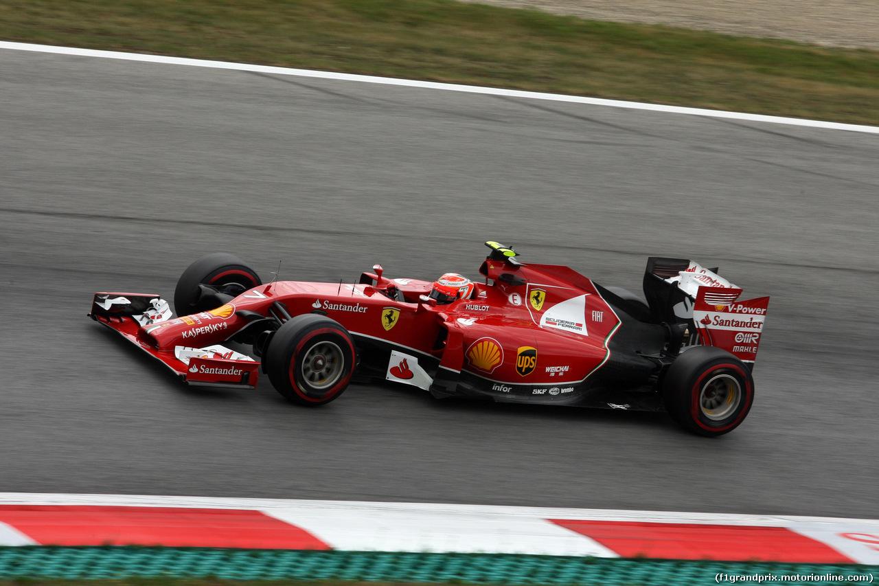 GP AUSTRIA, 21.06.2014- Prove Libere 3, Kimi Raikkonen (FIN) Ferrari F14-T