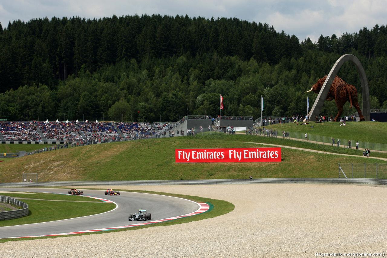 GP AUSTRIA, 21.06.2014- Prove Libere 3, Nico Rosberg (GER) Mercedes AMG F1 W05