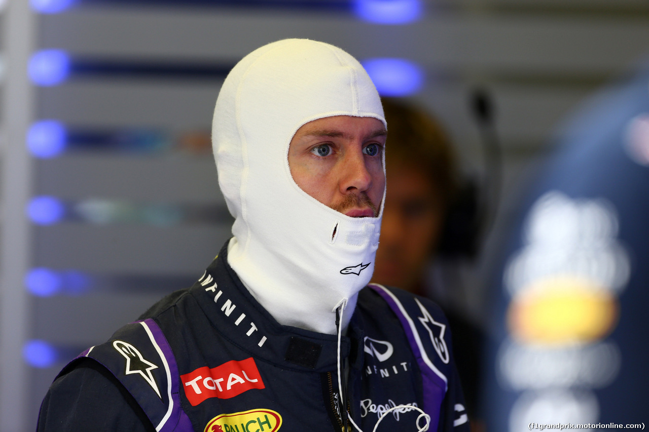 GP AUSTRIA, 21.06.2014- Prove Libere 3, Sebastian Vettel (GER) Red Bull Racing RB10