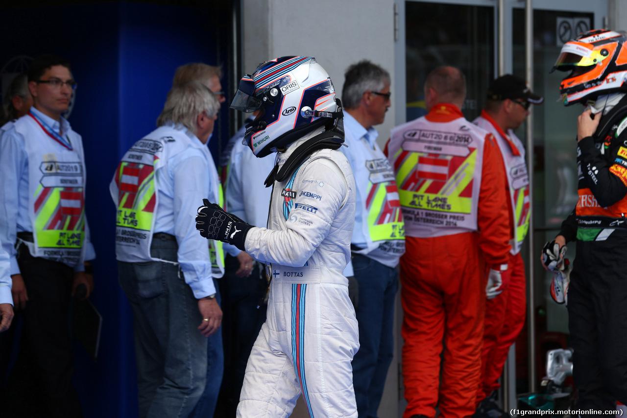 GP AUSTRIA, 21.06.2014- Qualifiche, Valtteri Bottas (FIN) Williams F1 Team FW36