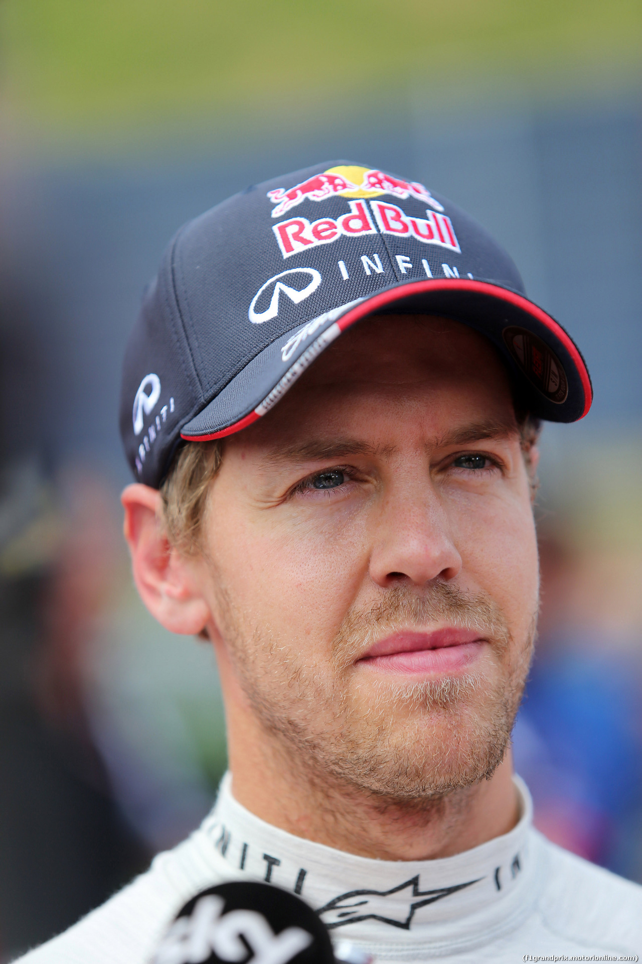 GP AUSTRIA, 21.06.2014- Qualifiche, Sebastian Vettel (GER) Red Bull Racing RB10