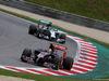 GP AUSTRIA, 21.06.2014- Free Practice 3, Daniil Kvyat (RUS) Scuderia Toro Rosso STR9 davanti a Nico Rosberg (GER) Mercedes AMG F1 W05