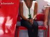 GP AUSTRIA, 21.06.2014- Qualifiche, Minttu Virtanen, girlfriend of Kimi Raikkonen (FIN)