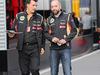 GP AUSTRIA, 21.06.2014- Federico Gastaldi (ARG) Lotus F1 Team Deputy Team Principal e Gerard Lopez (FRA)