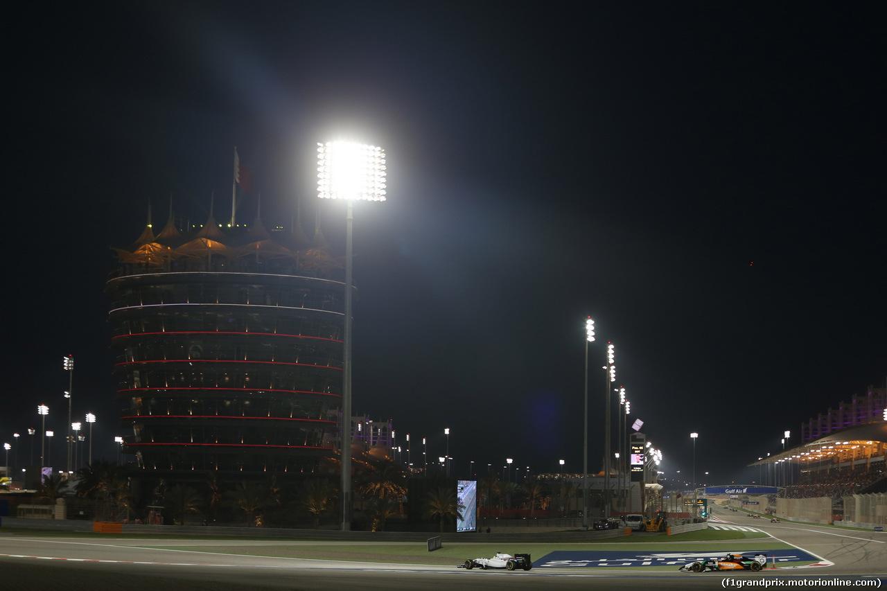 GP BAHRAIN, 06.04.2014- Gara, Felipe Massa (BRA) Williams F1 Team FW36
