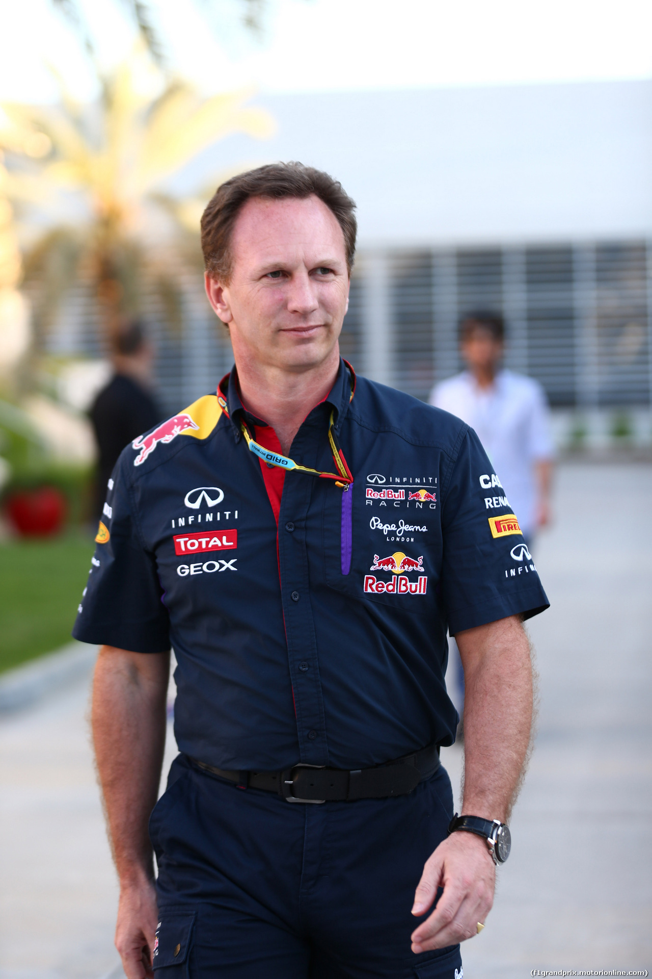 GP BAHRAIN, 06.04.2014-  Christian Horner (GBR), Red Bull Racing, Sporting Director