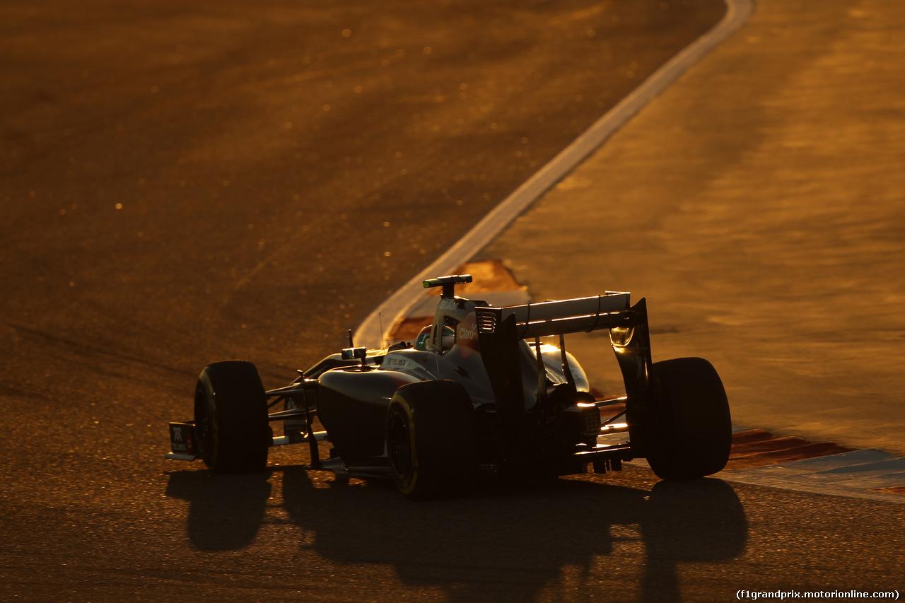 GP BAHRAIN, 06.04.2014- Gara, Esteban Gutierrez (MEX) Sauber F1 Team C33