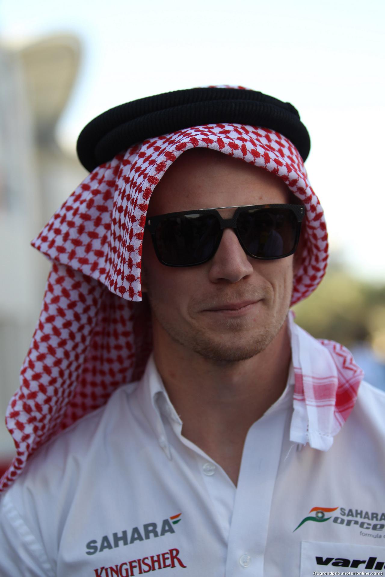 GP BAHRAIN, 06.04.2014- Nico Hulkenberg (GER) Sahara Force India VJM07