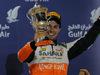 GP BAHRAIN, 06.04.2014-  Podium, 3rd Sergio Perez (MEX) Sahara Force India F1 Team VJM07