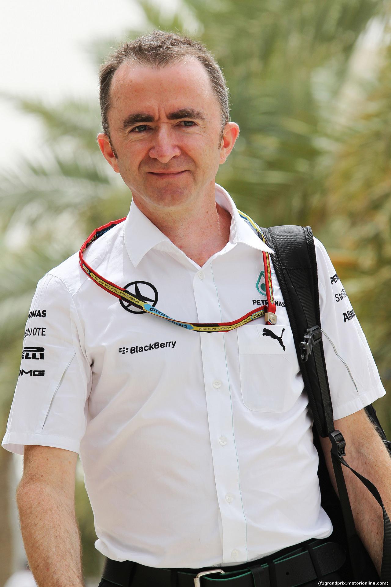 GP BAHRAIN, Paddy Lowe (GBR) Mercedes AMG F1 Executive Director (Technical). 03.04.2014. Formula 1 World Championship, Rd 3, Bahrain Grand Prix, Sakhir, Bahrain, Preparation Day.