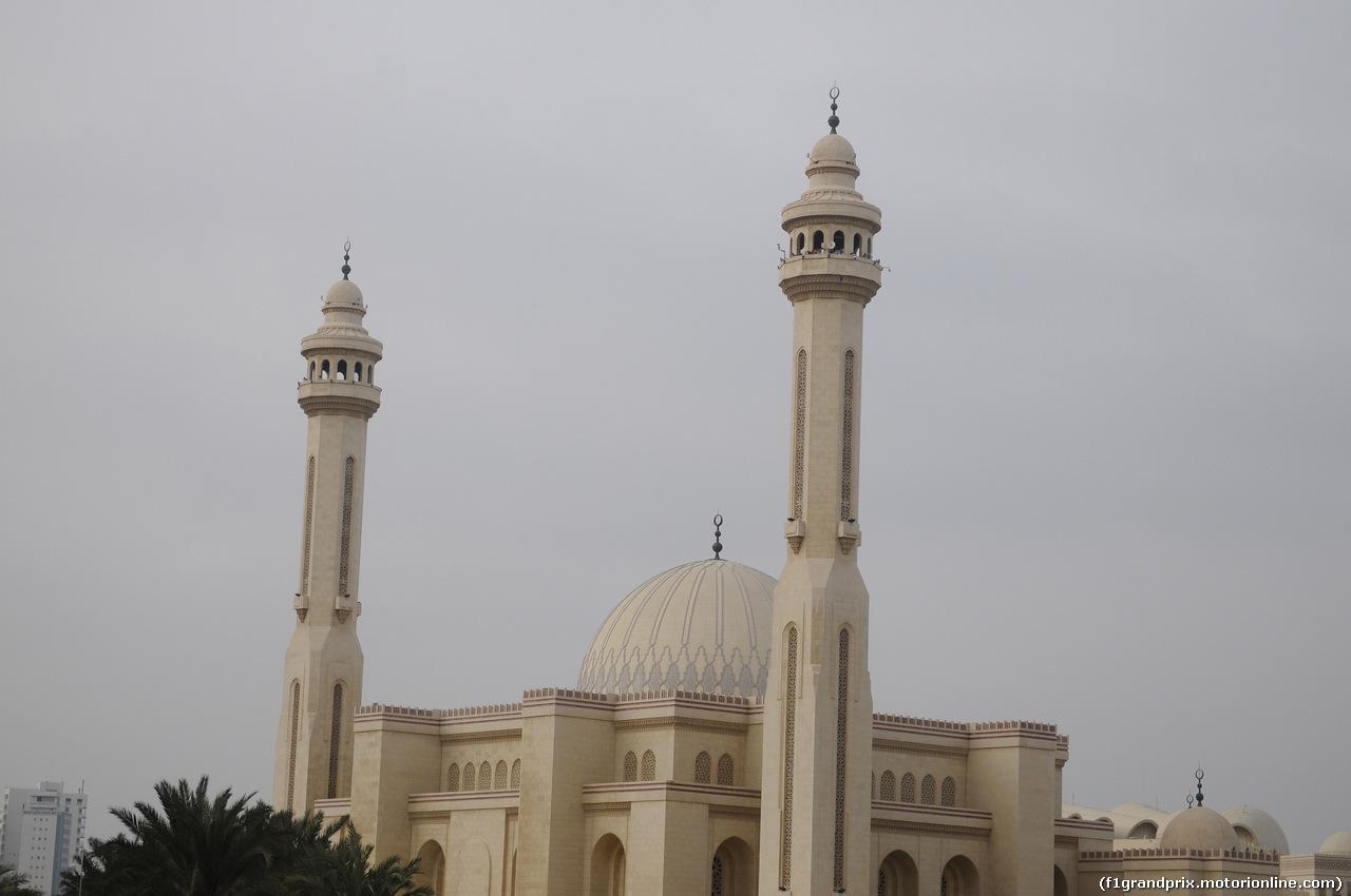 GP BAHRAIN, 03.04.2014- Atmosphere of Manama: Al Fateh Grand Mosque
