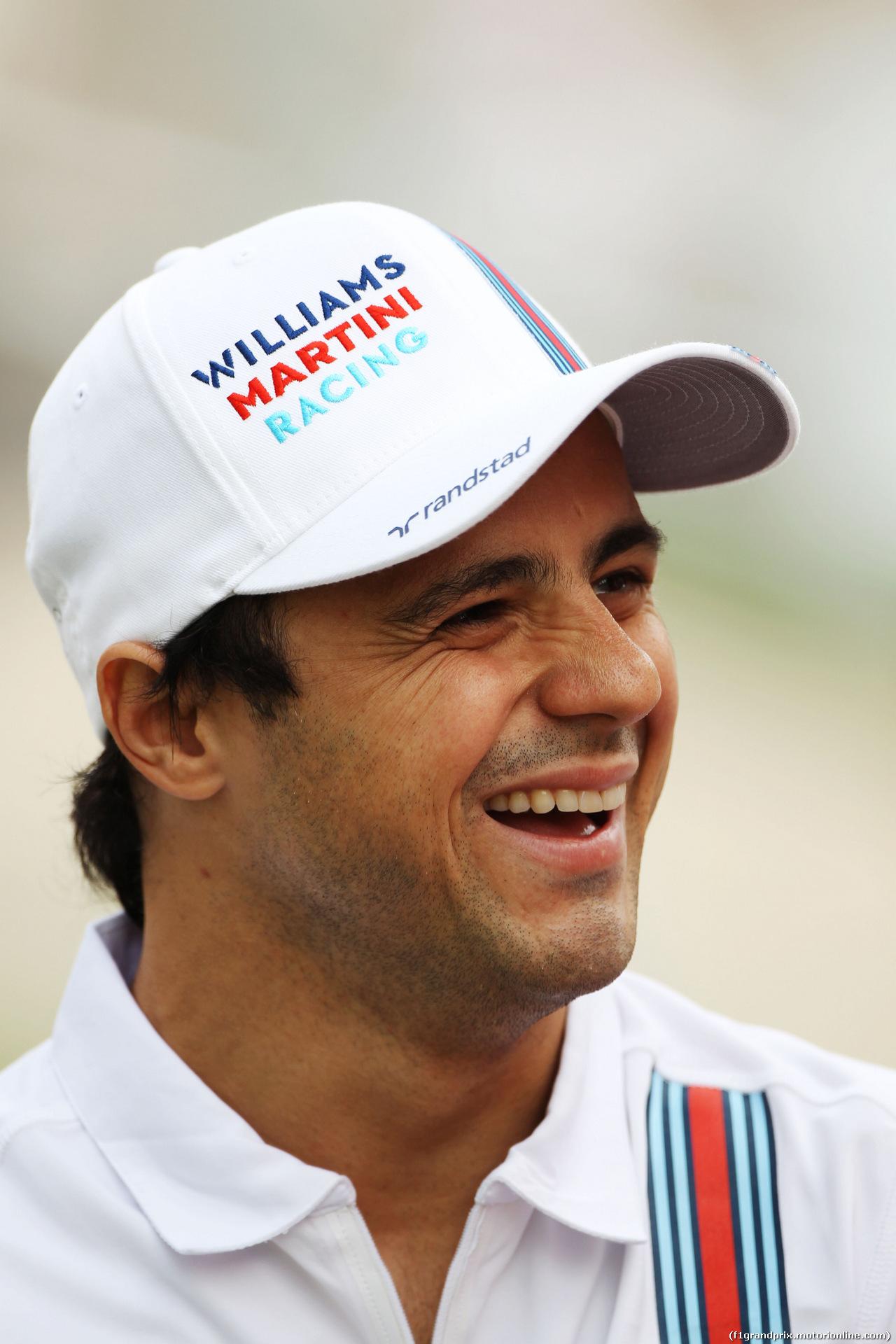 GP BAHRAIN, Felipe Massa (BRA) Williams. 03.04.2014. Formula 1 World Championship, Rd 3, Bahrain Grand Prix, Sakhir, Bahrain, Preparation Day.