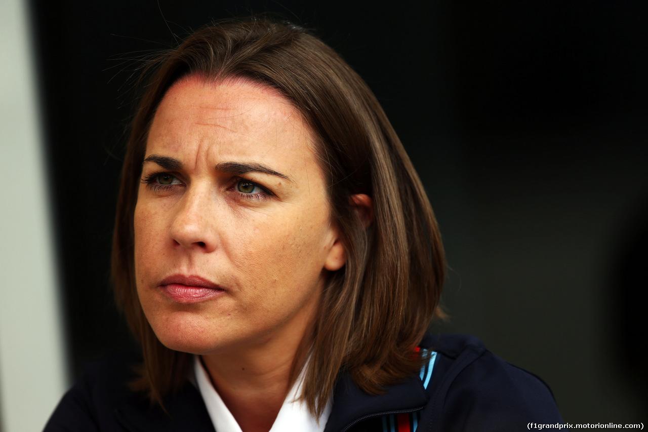 GP BAHRAIN, Claire Williams (GBR) Williams Deputy Team Principal. 03.04.2014. Formula 1 World Championship, Rd 3, Bahrain Grand Prix, Sakhir, Bahrain, Preparation Day.